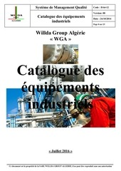 catalogue des equipements