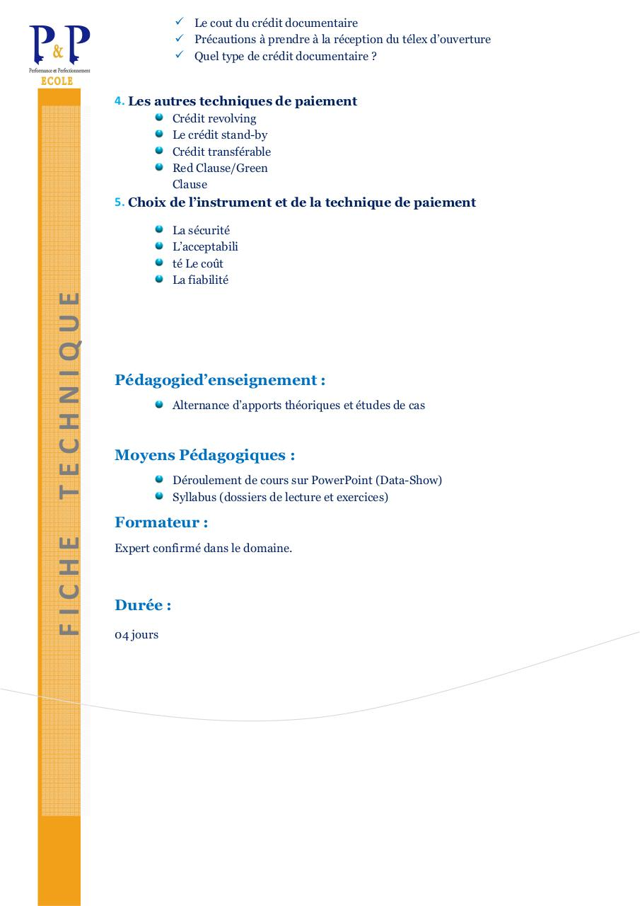 FT Le paiement des Operations Commerciales Internationales.pdf - page 2/2
