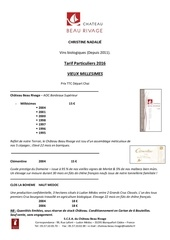 Fichier PDF tarif propriete vieux millesimes 2016