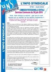 info syndicale n02 cpc servi ces communs du 30 juin 2016