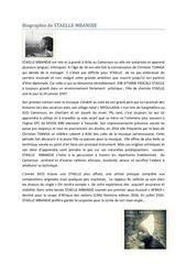 biographie de staelle mbandj1