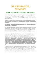 Fichier PDF ni naissance ni mort sathya sai baba