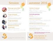 session automne 2016