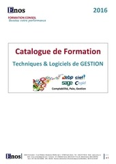 catalogue enos 2016 gestion