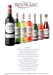 Fichier PDF bouteilles et recompenses chateau rioublanc