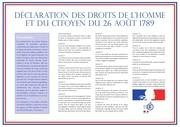 declaration des droits de l homme et du citoyen 1789