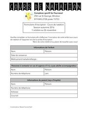 formulaire d inscription pdf