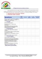 Fichier PDF enquete de satisfaction