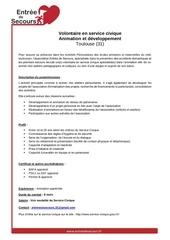 Fichier PDF fiche poste service civique toulouse