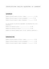Fichier PDF inscriptions rallye equestre du larmont