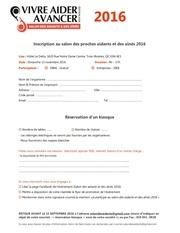 Fichier PDF formulaire de participation