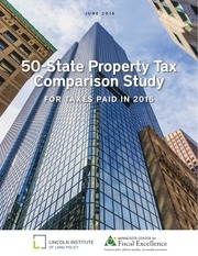 50 state property tax comparison study for taxes paid in 2015