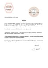 lettre de devis d assurance ant