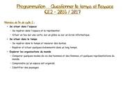 Fichier PDF programmation questionner le temps et l espace ce2 2017 17