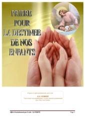 priere pour la destinee des enfants