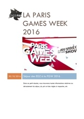 la paris games week 2016