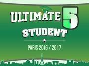 plaquette ultimate 5 student 2016 2017 annonceurs vf