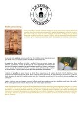fiche de degustation bielle 20112015