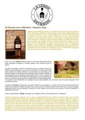 Fichier PDF fiche de degustation el dorado rare collection enmore 1993