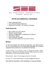 offre cdi commercial confirme