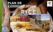 travail academique plan de communication ndop rice