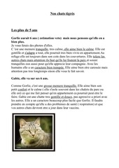 Fichier PDF les chats tigres