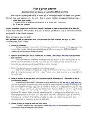 plan d action citoyens