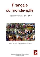 rapport activite aout 2016