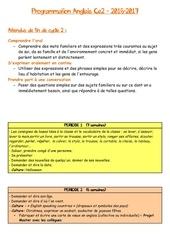 Fichier PDF programmation anglais ce2 2016 2017