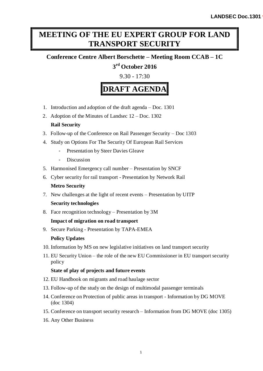Aperçu du document Draft Agenda for LANDSEC 13 final.pdf - page 1/1