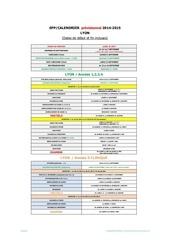 lyon calendrier provisoire 2014 2015