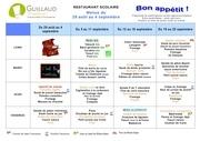 Fichier PDF menus 4 semaines sept