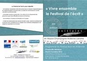 programme festival de l ecrit ardennes