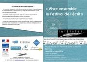 programme festival de l ecrit marne