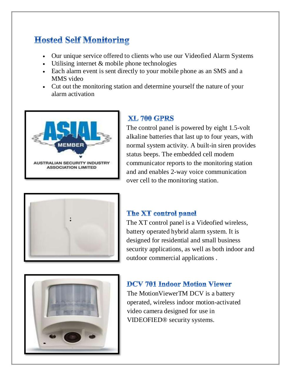 Video Alarm Systems.pdf - page 2/3