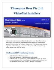 Fichier PDF video alarm systems