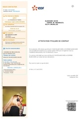 Fichier PDF attestation