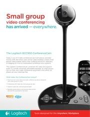 conference cam standard brochure logitech