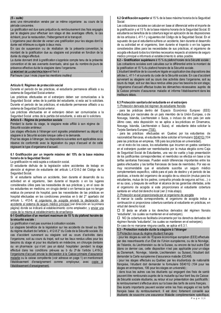Convention de stage FR ES.pdf - page 3/6