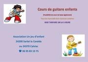 cours de guitare enfants
