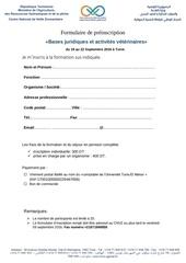 fiche peinscription bases juridiques