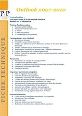 Fichier PDF ft p p outlook 2 jours