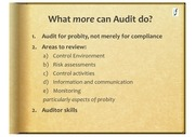 auditing for probity in procurement 4