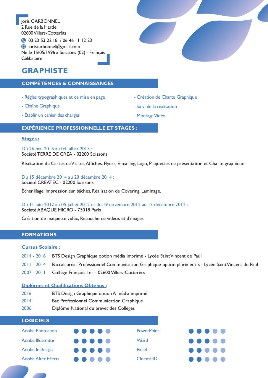 carbonnel joris cv graphiste2016