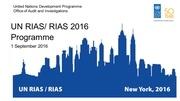 un rias rias programme 1 september 2016 final