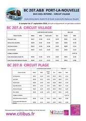 bus cool bc 207 a et b ecarts de port la nouvelle 02092016