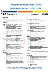 f4s programme advf