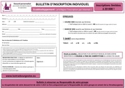 bulletin dinscription 2016