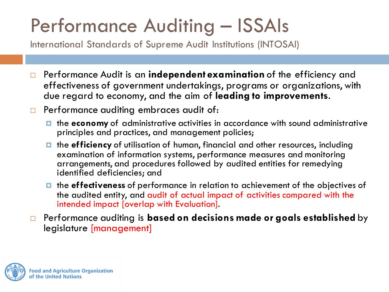 Performance Audit - EC IAS and FAO OIG[1].pdf - page 2/16