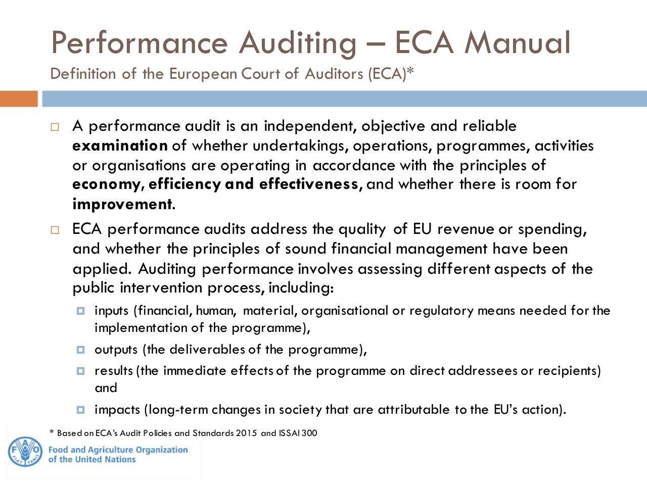 Performance Audit - EC IAS and FAO OIG[1].pdf - page 3/16